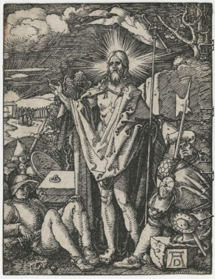 The Resurrection by Albrecht Durer