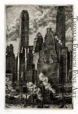 Wall Street by Reginald Marsh