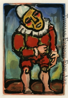 Le Petit Nain (The Little Dwarf, Plate 4) by Georges Rouault